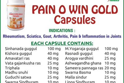 Pain O Win Gold Capsules